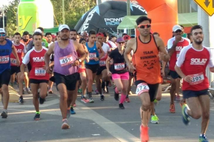 Mendiolaza corrió su maratón 9