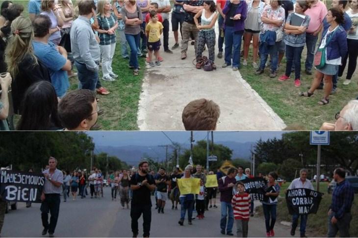 Protestan en Mendiolaza por una mejor seguridad vial 4