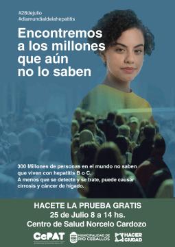 Río Ceballos organiza actividades por el Día Mundial Contra la Hepatitis 1