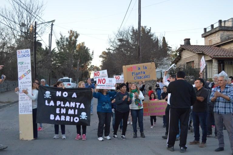 Villa Allende: aprueban amparo contra la instalación de una planta cloacal