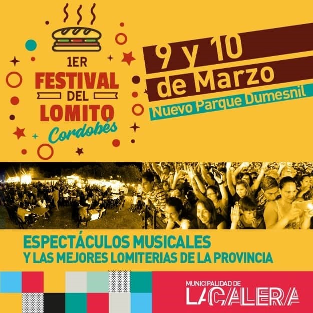 Se reprograma el Festival del Lomito Cordobés de Sierras Chicas 2