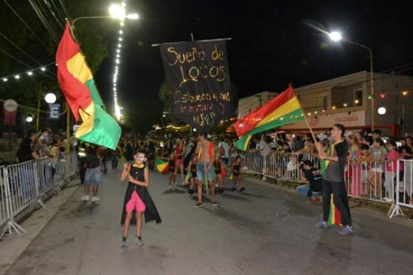 En fotos: la celebración del Carnaval de Unquillo 18