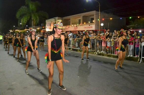 En fotos: la celebración del Carnaval de Unquillo 21