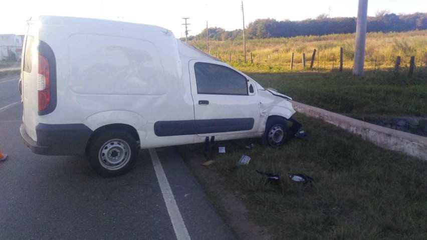 Accidentes en la región deja un herido con lesiones graves