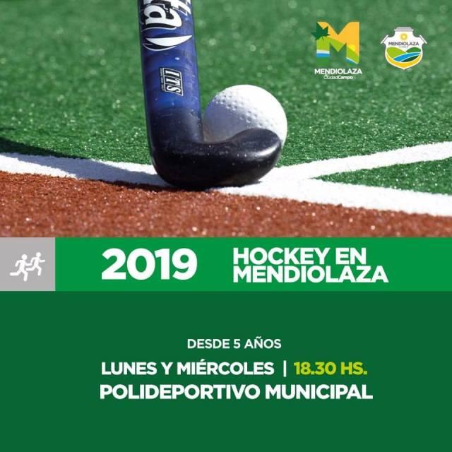 La Escuela de Hockey en Mendiolaza comenzó la temporada 2019 1