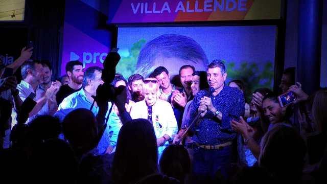 """Villa Allende volvió a elegir a """"El Gato"""" Romero 1"""