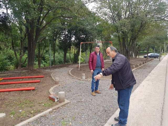 En mayo se inaugurarán dos plazas nuevas para Mendiolaza 4