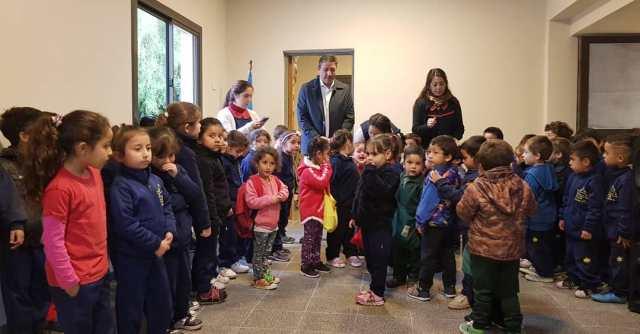 Salibi inauguró una nueva sala de tres para la escuelita Sarmiento 5