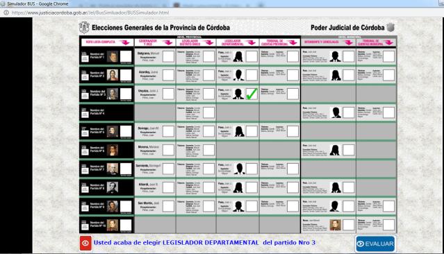 Si tenés dudas sobre cómo votar: Practica con el simulador de Boleta Única 2