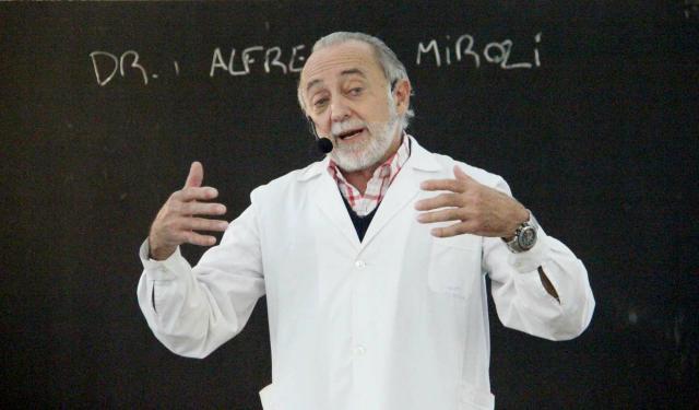 """Alfredo Miroli: """"La salud es una conquista, no un regalo"""" (audio) 2"""