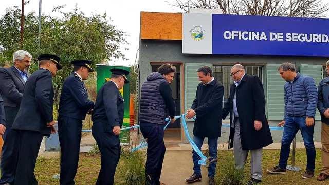 Mendiolaza: inauguración y puesta en funcionamiento de la Oficina de Seguridad 1
