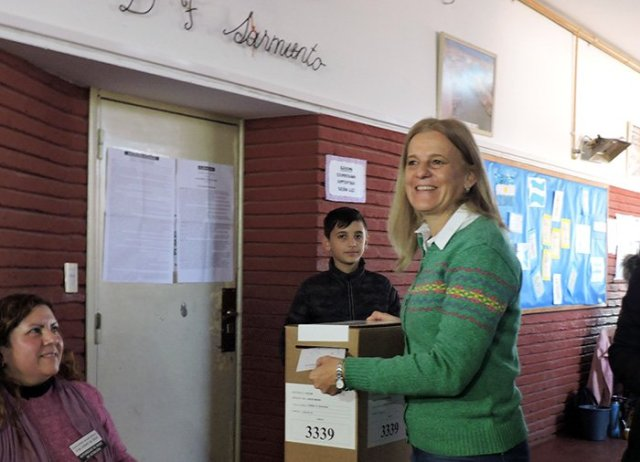 La UCR festeja: Picat, es el intendente electo de Jesús María 10