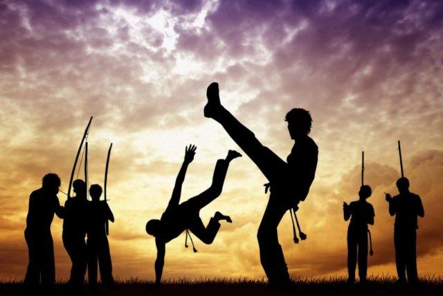 Fiesta con capoeira y música en Mendiolaza 1