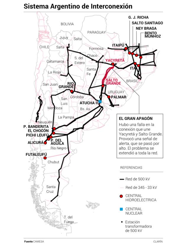 Apagón masivo en Sierras Chicas y el país (informe) 6
