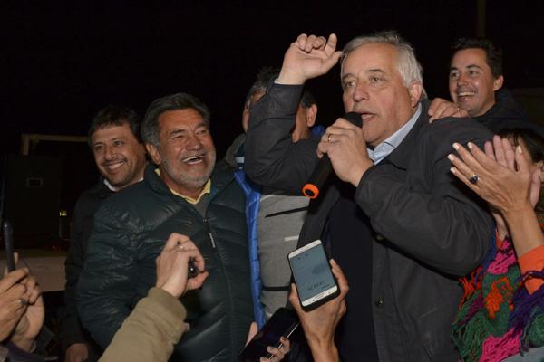 Eduardo Baldassi agradeció al pueblo rioceballense por el triunfo 10