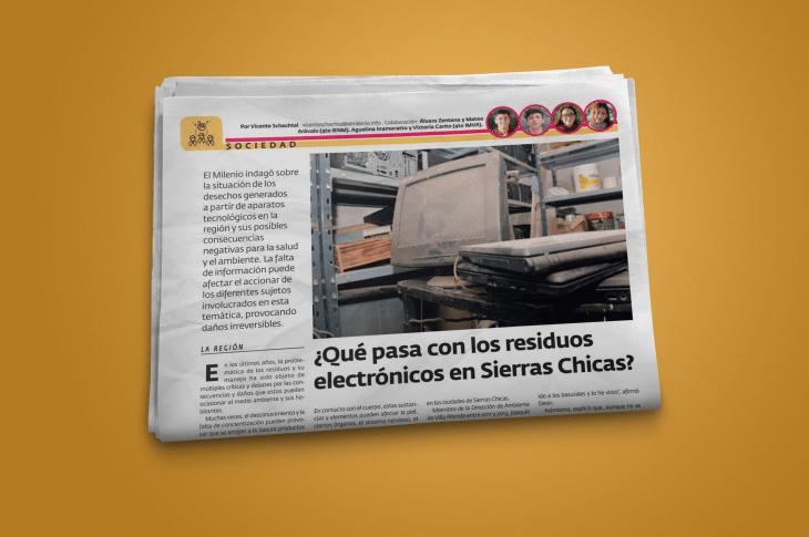 ¿Qué pasa con los residuos electrónicos en Sierras Chicas? 3