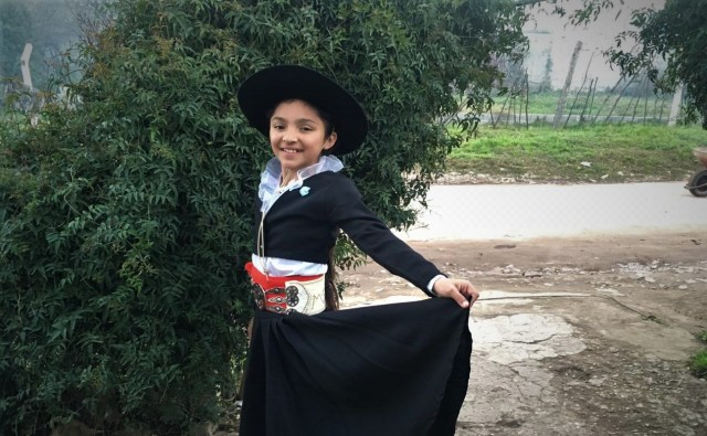 Valentina Moyano: de Unquillo al Campeonato Nacional de Malambo Femenino 1