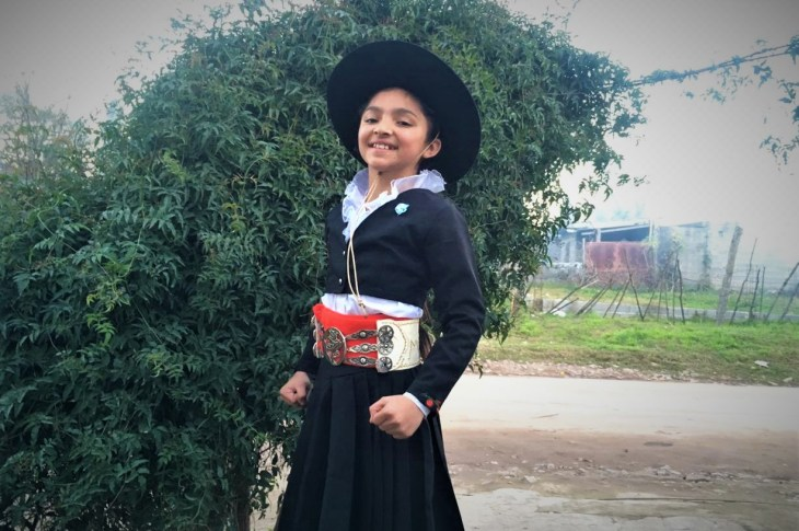 Valentina Moyano: de Unquillo al Campeonato Nacional de Malambo Femenino 9
