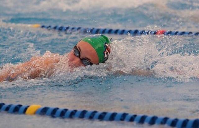 Valentina Rossi, la nueva promesa de la natación cordobesa 2