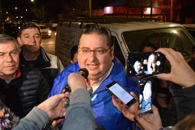 Gustavo Brandán es el intendente reelecto de Colonia Caroya 1
