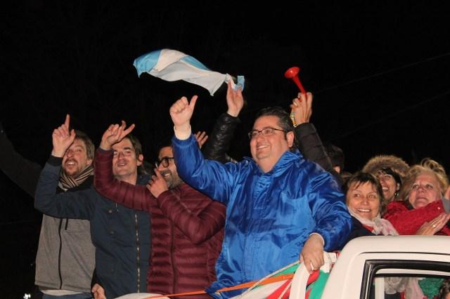 Gustavo Brandán es el intendente reelecto de Colonia Caroya 2