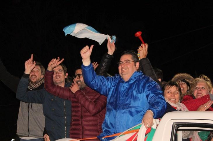 Gustavo Brandán es el intendente reelecto de Colonia Caroya 6