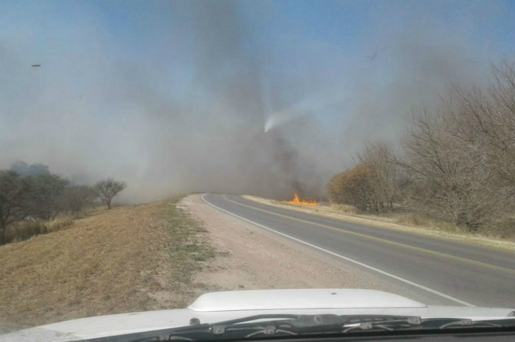 Persisten las condiciones de riesgo alto de incendios en toda la provincia 3