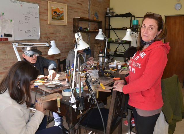 Cristina Tomas y el placer de crear arte 1