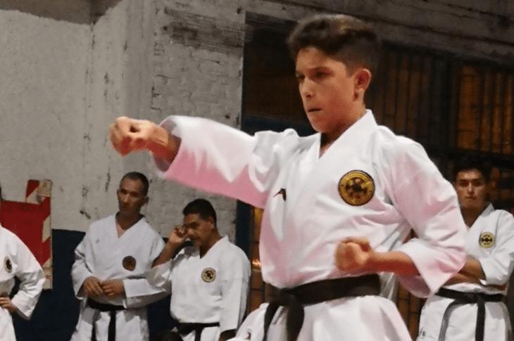 Agustín Martínez, de Unquillo a los Juegos Nacionales Evita 1