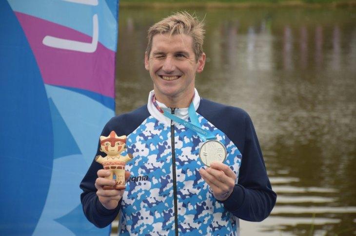 Panamericanos: Bertola, medalla de plata en Aguas Abiertas 9