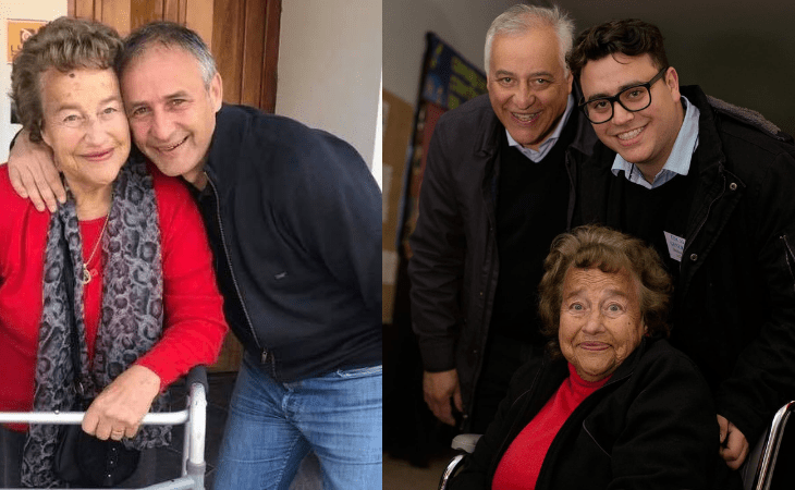 Falleció Chicha, mamá de Eduardo y Héctor Baldassi 4