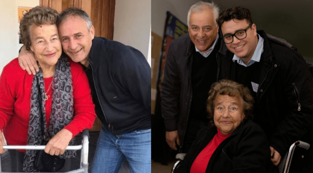 Falleció Chicha, mamá de Eduardo y Héctor Baldassi 1