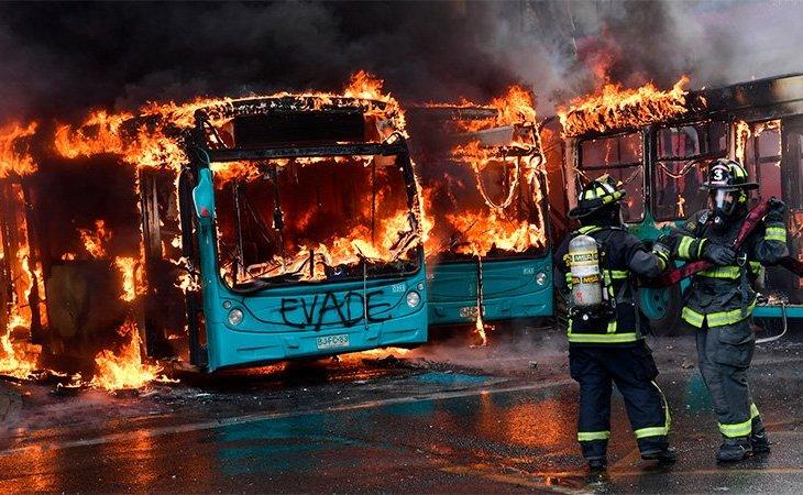 Las Naciones Unidas expresa su preocupación por las protestas en Chile 2
