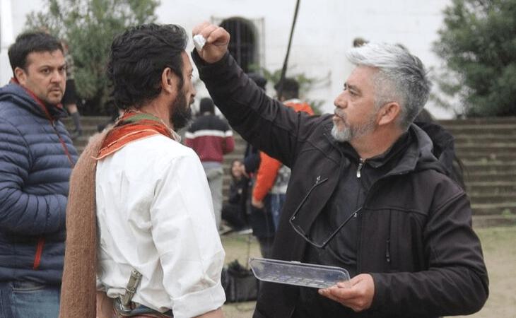 """Sangre de Fierro"" tuvo su primera jornada de rodaje 11"