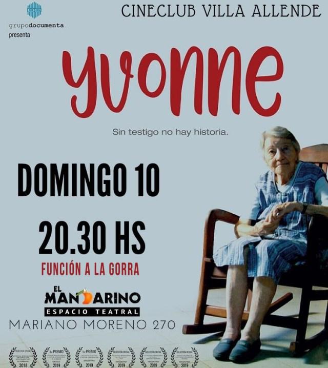 """Proyección de """"Yvonne"""" en Villa Allende 4"""