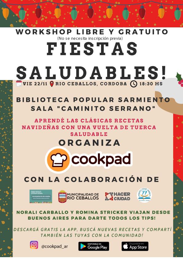 Cookpad trae recetas navideñas y saludables a Río Ceballos 5