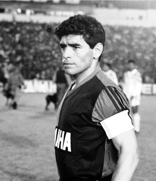 Buenos Aires: Fotografía de archivo del día 13/09/1993 de Diego Armando Maradona, quien cumple 60 años mañana.  Foto: Norberto González/Télam/cbri 29102020