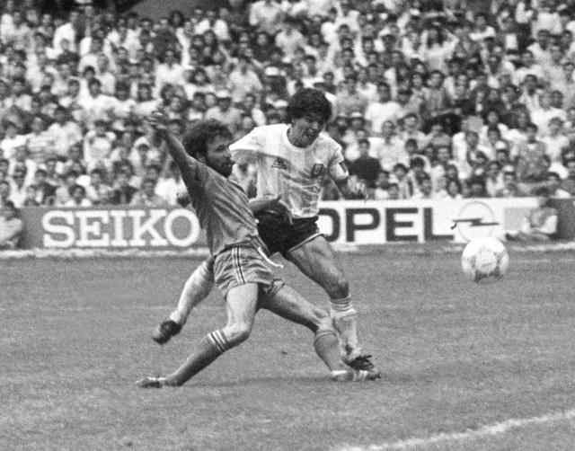 Buenos Aires: Fotografía de archivo del año 1986 de Diego Armando Maradona, quien cumple 60 años mañana.   Foto :Archivo/Télam/cbri 29102020