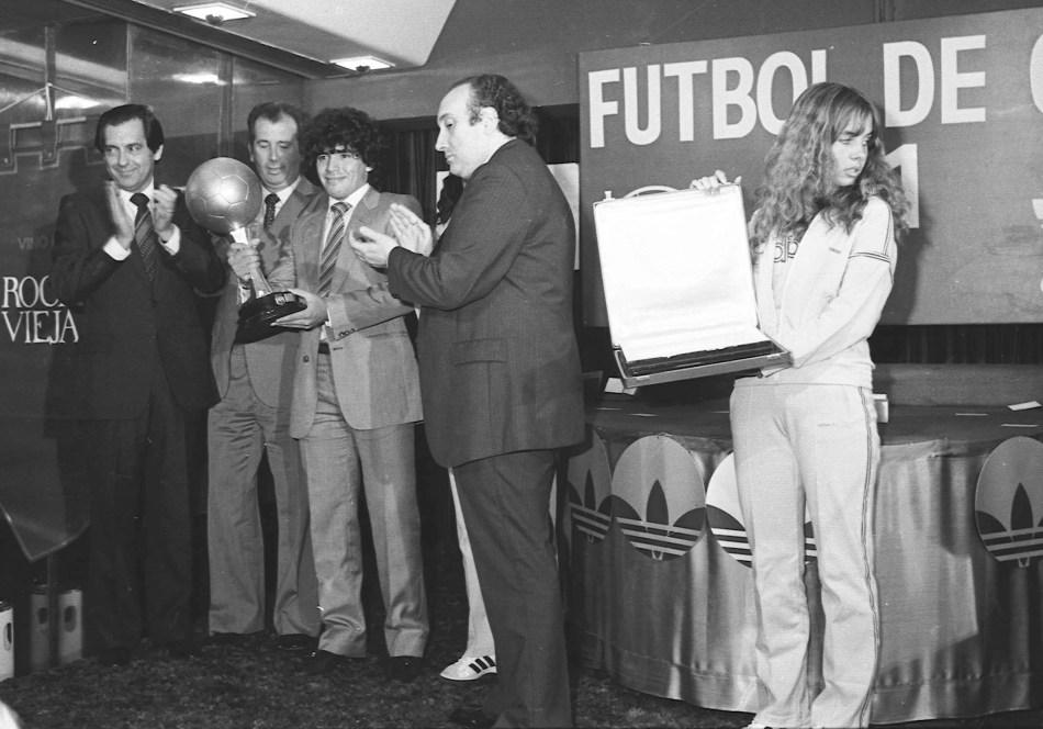 Buenos Aires: Fotografía de archivo de Diego Armando Maradona, quien cumple 60 años mañana. Foto: Archivo/Télam/cbri 29102020