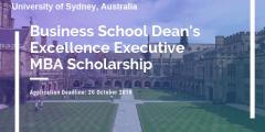 منحة جامعة سيدني كلية إدارة الأعمال لدراسة الماجستير في أستراليا