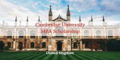 منحة ماجستير إدارة الأعمال في جامعة كامبريدج في إنجلترا 2021 (ممولة بالكامل)