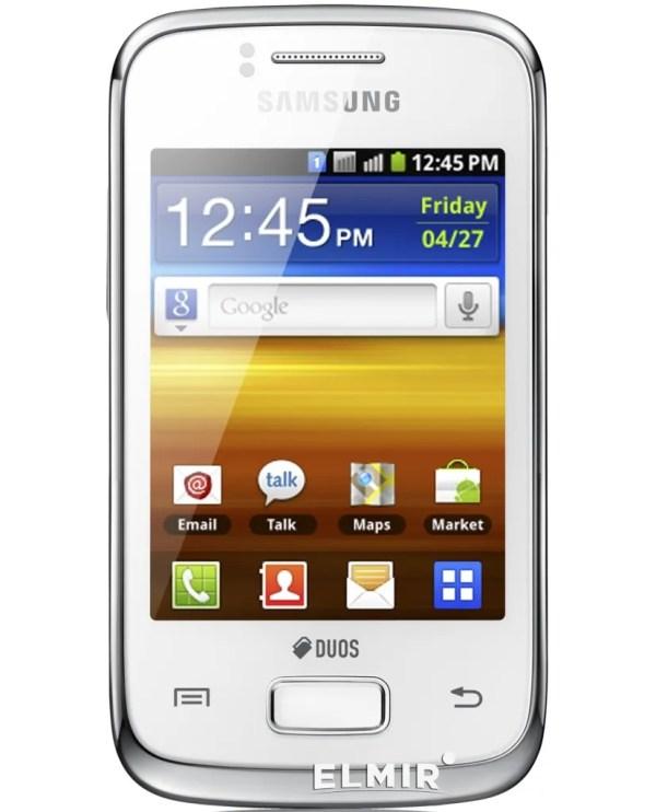 Мобильный телефон Samsung S6102 Pure White купить недорого ...