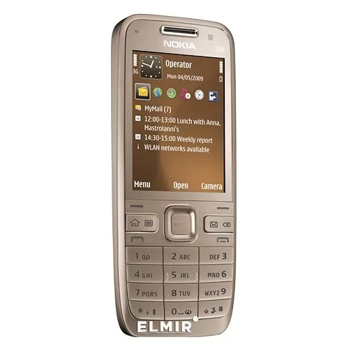 Мобильный телефон Nokia e52-1 Golden Aluminium купить ...