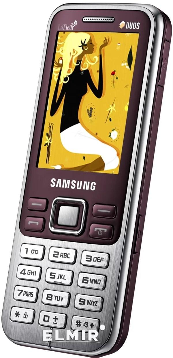 Мобильный телефон Samsung C3322 Metallic Black купить ...