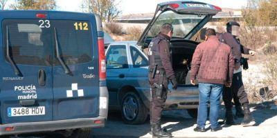 Confiscadas drogas por valor de 7000€ en la Cañada Real.