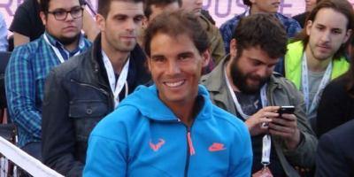 Rafa Nadal, contrincante de lujo para jugadores aficionados.