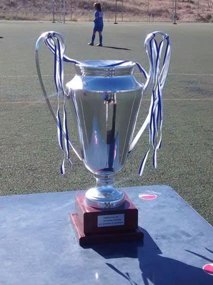 La copa que se llevará el equipo ganador del Torneo de Campeones de Fútbol 7