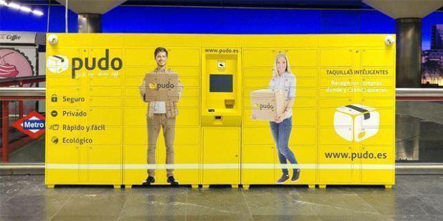 Consignas para recoger las compras en el metro