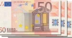 Billetes falsos de 50