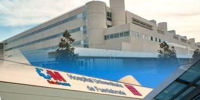 Aparece una persona fallecida en los jardines del hospital de Fuenlabrada.